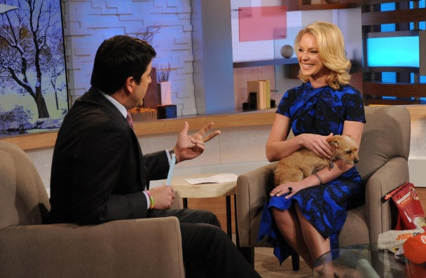 Katherine Heigl Visits Good Morning America To Discuss Just One