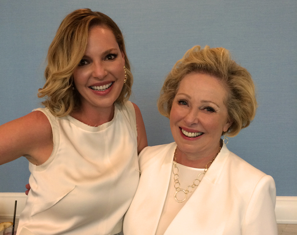Katherine Heigl & Nancy Heigl At The Seventh Annual Petco Foundation Hope Gala