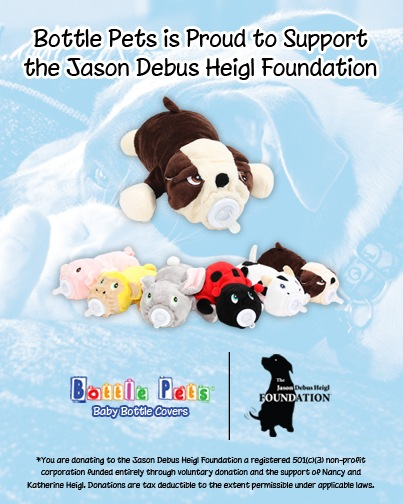 Bottle Pets Supporting The Work Of The Jason Debus Heigl Foundation