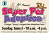 Irvine Animal Care Center's 6th Annual Super Pet Adoption Event
